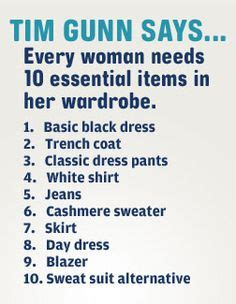 Tim Gunn Wardrobe Essentials by 1000 Images About Personal Lean Capsule Wardrobe For