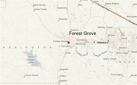 forest grove oregon map forest grove location guide
