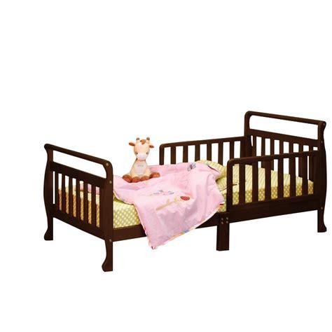 espresso toddler bed athena anna toddler bed in espresso 7008e