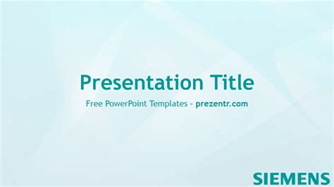 Free Siemens Powerpoint Template Prezentr Powerpoint Templates Powerpoint Template For