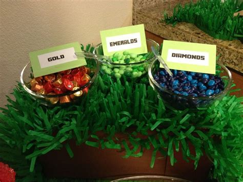 party themes kimberley minecraft party food ricky s minecraft party pinterest