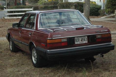 vintage honda accord 1983 honda accord sedan unique vintage intact