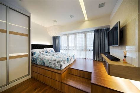 Platform Bedroom Design Platform Bed Archives Interior Design Singapore