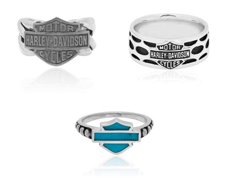 harley davidson rings by mod jewelry general