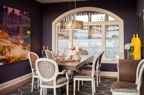 How To Fashion A Sumptuous Dining Room Using Majestic Purple | how to fashion a sumptuous dining room using majestic purple