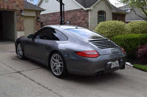 porsche 911 cpo fs cpo 2009 porsche 911 s pdk meteor gray black