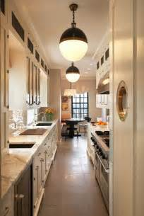 white galley kitchen ideas 22 stylish long narrow kitchen ideas godfather style