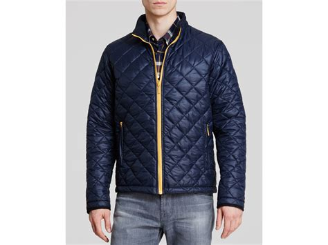 Quilted Jackets For by Barbour Kellen Quilted Jacket In Blue For Lyst