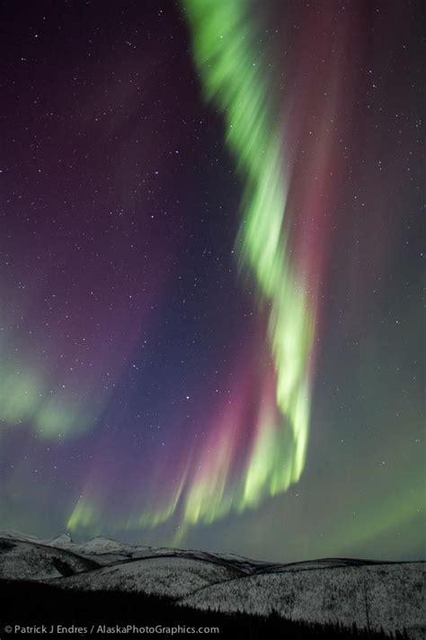 Fairbanks Northern Lights by Northern Lights Fairbanks Alaska Moon Sunset