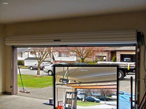 residential roll  garage doors modern vancouver