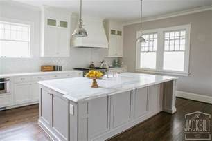 White Kitchens With Islands White Kitchen Cabinets Gray Island Quicua