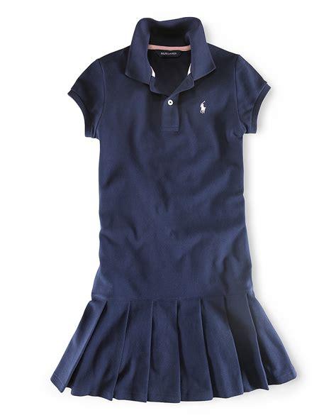 Ralph Lauren Childrenswear Girls' Polo Dress   Sizes 2T 6X   Bloomingdale's
