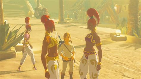 Link Cloth by Link Enters Gerudo Town With No Gerudo Clothes