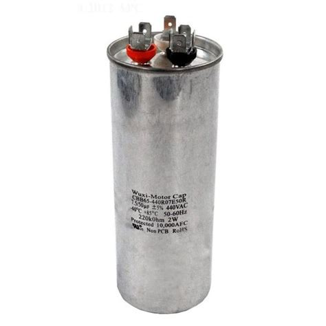 capacitor model pentair 470146 capacitor model 100i