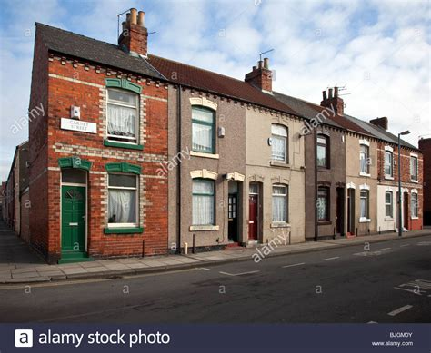 houses to buy in middlesbrough garnet street terraced houses middlesbrough teesside north stock photo royalty