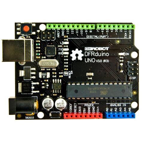 Termurah Arduino Uno R3 Bonus Usb Cable dfrobot dfrduino uno r3 arduino uno r3 compatible