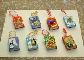 29 reuse matchboxes as christmas ornament and you can put a