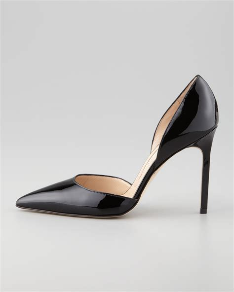 Shine On In The Shine Patent Leather Dorsay From Davis By Ruthie Davis Shoewawa by Manolo Blahnik Tayler Patent Pointed D Orsay Black