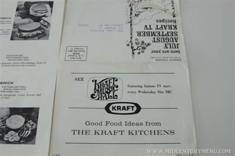 swing in pizza menu swingin summer salad 1971 a mid century recipe test