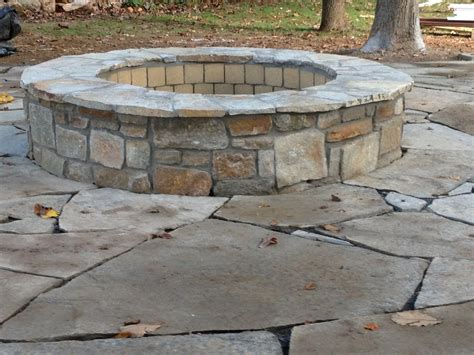 Flagstone Firepit Pit Designs Patio Contemporary With Backyard Pit Beeyoutifullife