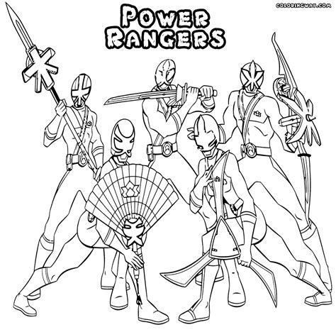 power rangers samurai coloring pages to print mighty morphin power rangers coloring pages crayola photo