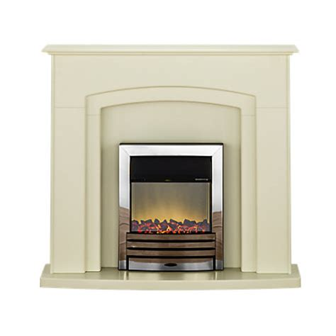 Cheap Electric Fireplace Suites by Adam Falmouth Electric Fireplace Suite With Chrome