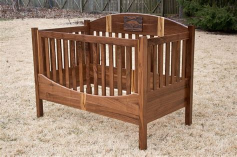 Custom Made Crib by Custom Acacia Tree Crib By Drop Tine Design Custommade