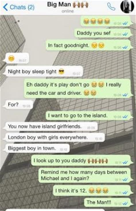 seeing a woman a conversation between a father and son hilarious conversation between a father son on whatsapp