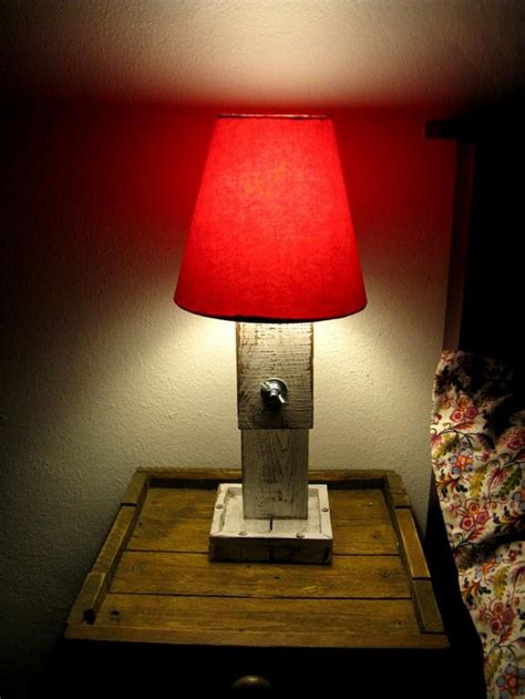 wooden pallet upcycled lamps upcycle art