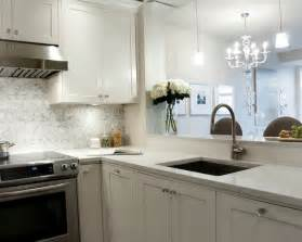 White Kitchen Countertops White Granite Countertops Transitional Kitchen Deslaurier Custom Cabinets