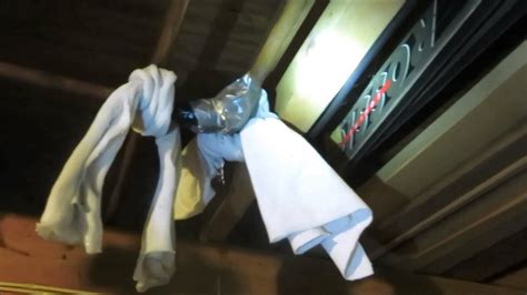 duct tape verses leaking water pipe   win youtube