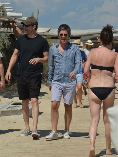 Borat Isla And Purple Dress by Bono Goes As He Holidays With Noel Gallagher Sacha