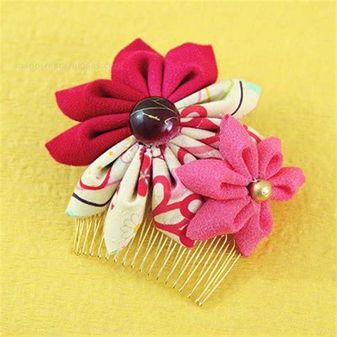 imagenes de flores kanzashi manos maravillosas flores kanzashi
