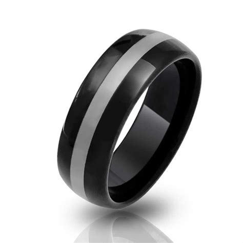 black tungsten mens wedding bands s cheap black tungsten wedding bands