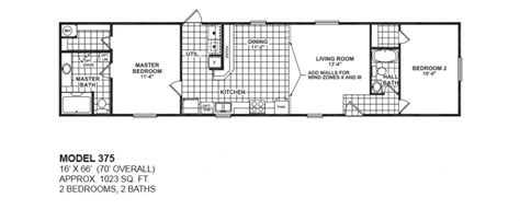 single wide 2 bedroom trailer 2 bedroom 2 bath single wide mobile home floor plans for