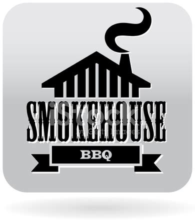 smokehouse barbecue icon in gray stock vector freeimages.com