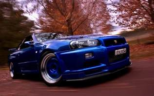 Nissan Skyline R34 Gtr Nissan Skyline Gtr R34 Wallpapers Wallpaper Cave