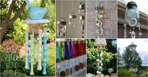 wind chimes diy 40 relaxing wind chime ideas to fill your outdoors with