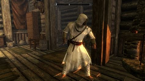 assasins creed robes assassins creed style mage robe at skyrim nexus mods and