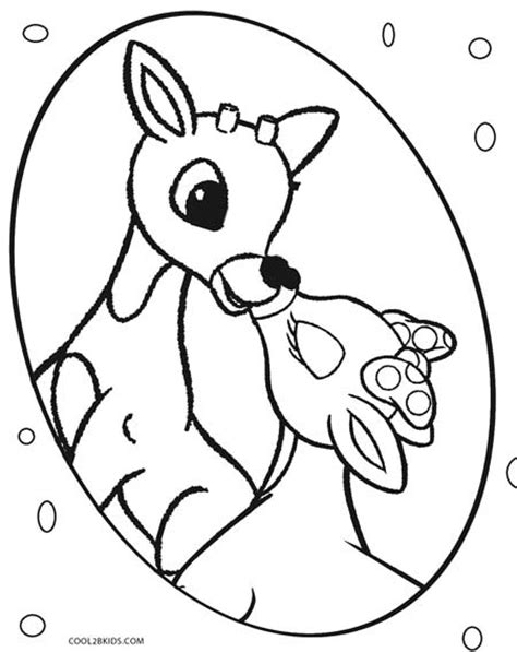 printable rudolph coloring pages for kids cool2bkids