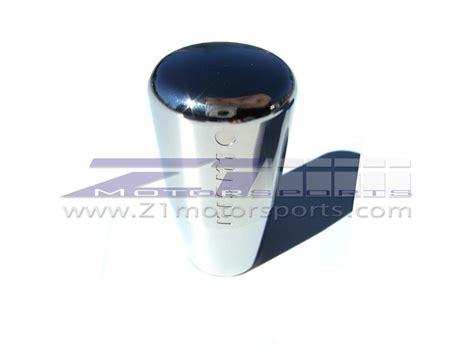Nismo Black Aluminum Shift Knob by Nismo Chrome Aluminum Shift Knob