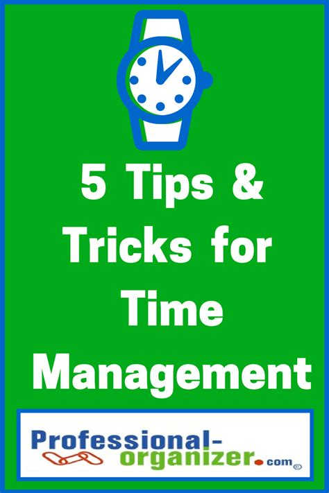moving tips and tricks from a professional organizer 5 tips and tricks for time management ellen s blog