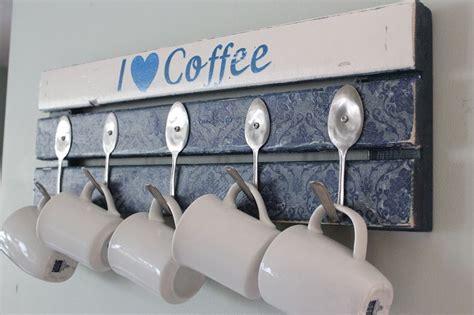 Rustic Coffee Mugs by 21 Diy Coffee Racks To Organize Your Morning Cup Of Joe