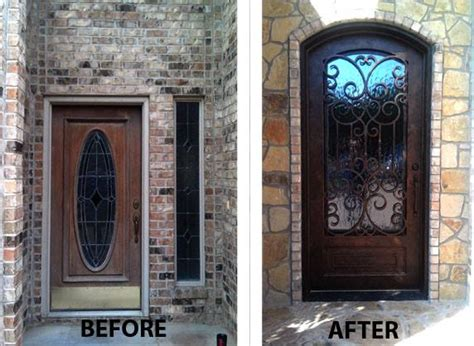 front iron doors 4 benefits of iron front entry doors medford remodeling