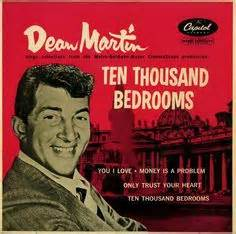 ten thousand bedrooms dean martin and third wife cathy hawn dean jerry
