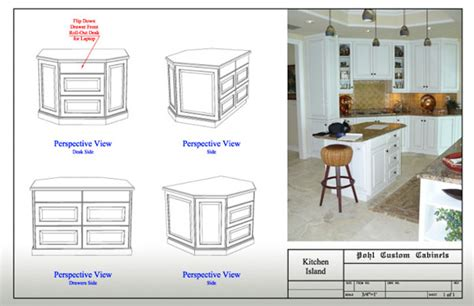 kitchen island cabinet design custom cabinet designs