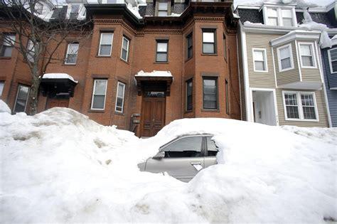 Boston Records Boston Snowfall Tops 9 Breaking City S All Time Record La Times