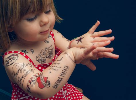 download your own kids halloween tattoos ladylandladyland