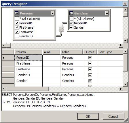 tutoriel tableau join jointure sql server