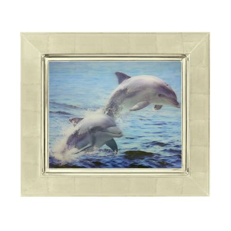 dolphin home decor happy dolphin lenticular 3d picture animal poster painting